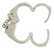 Раскройте наручники Стоковая Фотография RF