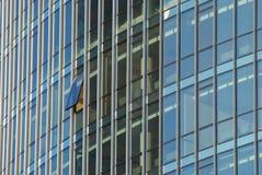 раскройте окно небоскреба стоковые изображения rf