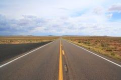 раскройте дорогу Стоковое фото RF