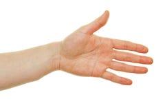 Раскройте достижение руки Стоковая Фотография RF