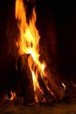 Раскройте пожар стоковое фото