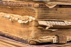 Раскройте пробел книги на белизне Стоковая Фотография RF