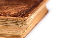 Раскройте пробел книги на белизне Стоковое фото RF