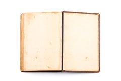 Раскройте пробел книги на белизне Стоковые Фото