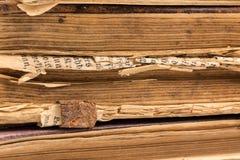 Раскройте пробел книги на белизне Стоковые Изображения