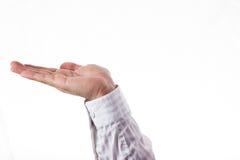 Раскройте руку Стоковое фото RF