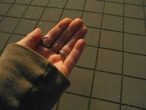Раскройте руку Стоковые Изображения RF