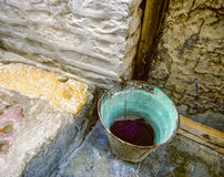 Раскройте старую историческую систему canalization Стоковое Изображение