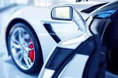 Раскройте супер автомобильную дверь Стоковое Фото