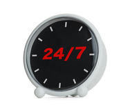 Раскройте 24 часа Стоковое фото RF