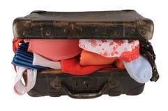 раскройте чемодан Стоковые Изображения RF