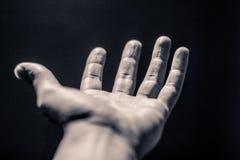 Раскройте человеческую руку стоковые фото