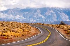 Раскройте шоссе в Калифорнии Стоковые Изображения