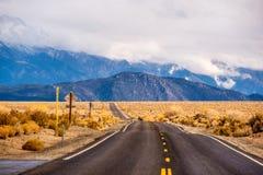 Раскройте шоссе в Калифорнии Стоковые Изображения RF