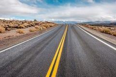 Раскройте шоссе в Калифорнии Стоковые Фото