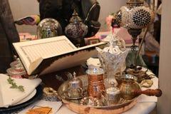 Раскройте kareem ramadan святой книги Корана Стоковые Фото