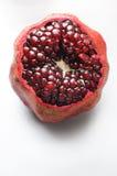 Раскройте pomegranate стоковое изображение rf