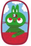 Раскрывать запомнил кролика Стоковая Фотография