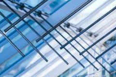 Раскрывая шкафы привода Абстрактная высокотехнологичная крыша Стоковое фото RF