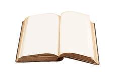 Раскрытая античная книга Стоковые Фотографии RF