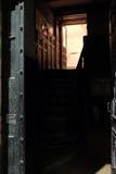 раскрытая дверь Стоковое Изображение
