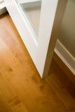 раскрытая дверь Стоковая Фотография