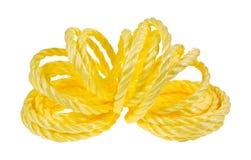 Раскрытая катушка желтой веревочки Стоковое Изображение RF