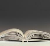 раскрытая книга Стоковая Фотография RF