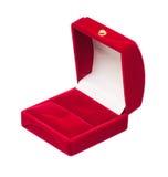 Коробка бархата Стоковое Фото