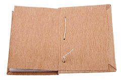 раскрытая старая книги Стоковые Фотографии RF