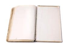 раскрытая старая книги Стоковое Изображение RF