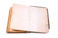 раскрытая старая книги Стоковая Фотография RF
