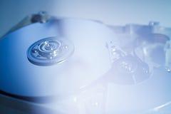 Раскрытый дисковод жесткого диска Стоковое фото RF