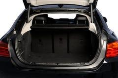 Раскрытый хобот автомобиля пустой стоковые фотографии rf