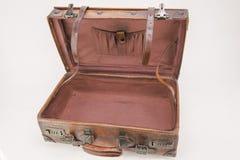 раскрытый чемодан Стоковая Фотография