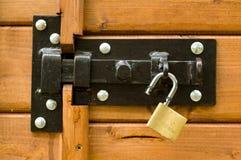раскрытый padlock Стоковая Фотография RF