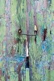 Распаденная деревянная дверь Стоковое Изображение RF
