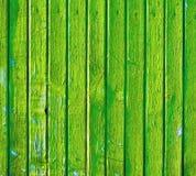 распаденная зеленая старая стена деревянная Стоковые Изображения RF