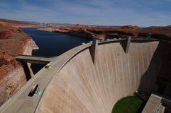 распадок запруды каньона Стоковое Изображение