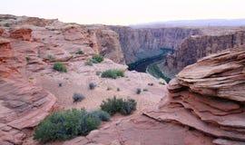 распадок каньона стоковые изображения