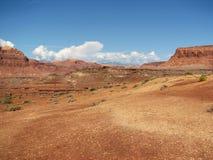 распадок открытая Юта пустыни каньона Стоковая Фотография RF