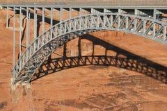 распадок Юта каньона моста стоковая фотография