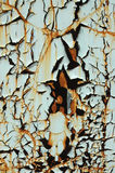 распадаясь стена Стоковая Фотография