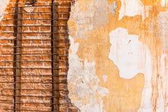 Распаденная стена Стоковое Фото
