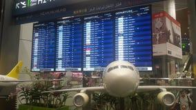 Расписание полетов Стоковые Фотографии RF