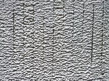 Расплавленный снег на загородке Стоковая Фотография RF