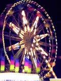 расплывчатое колесо ferris стоковое изображение rf