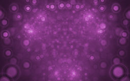 расплывчатые света фрактали Стоковое Изображение RF