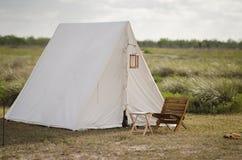 располагаться лагерем после полудня мирный Стоковые Фотографии RF