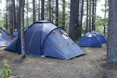 располагаться лагерем Стоковые Фото